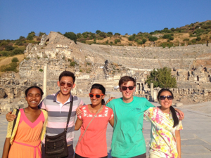 AFS participants in Turkey